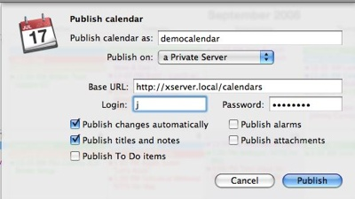 Ical-Publish-Private